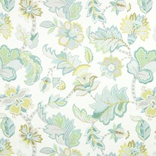 Tiffany Floral Drapery and Upholstery Fabric by Greenhouse