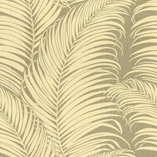 Dove Botanical Drapery and Upholstery Fabric by Kravet