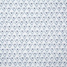 Indigo Print Drapery and Upholstery Fabric by Pindler