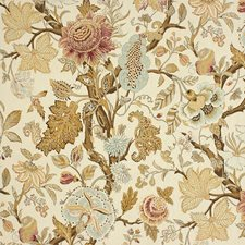 Vineyard Botanical Drapery and Upholstery Fabric by Kravet