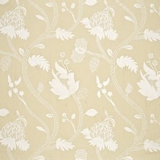 Mimosa Embroidery Drapery and Upholstery Fabric by G P & J Baker