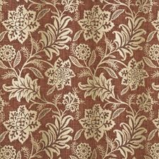 Brick Damask Drapery and Upholstery Fabric by G P & J Baker
