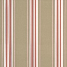 Antique Rose Stripes Drapery and Upholstery Fabric by G P & J Baker