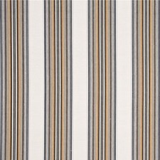 Grey/Sand Stripes Drapery and Upholstery Fabric by G P & J Baker