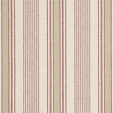 Ruby Stripes Drapery and Upholstery Fabric by G P & J Baker