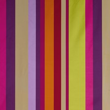 Fuchsia/Purple/Lime Stripes Drapery and Upholstery Fabric by G P & J Baker