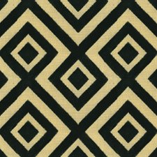 Midnight Geometric Drapery and Upholstery Fabric by G P & J Baker