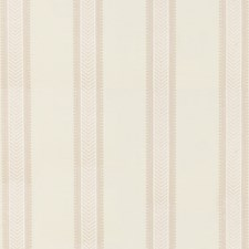 Ivory/Stone Embroidery Drapery and Upholstery Fabric by G P & J Baker