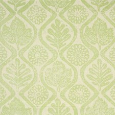 Lime Botanical Drapery and Upholstery Fabric by Lee Jofa