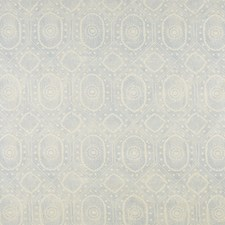 Pale Blue Print Drapery and Upholstery Fabric by Lee Jofa