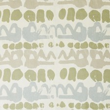 Green/Stone Contemporary Drapery and Upholstery Fabric by Lee Jofa