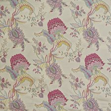Raspberry/Blue Drapery and Upholstery Fabric by Lee Jofa