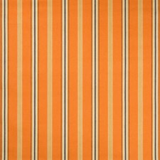 Orange Stripes Drapery and Upholstery Fabric by Lee Jofa