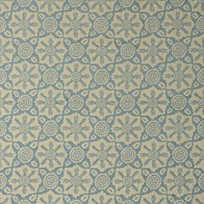 Aquamarine Damask Drapery and Upholstery Fabric by Lee Jofa
