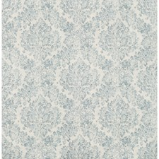 Light Blue/Slate/White Damask Drapery and Upholstery Fabric by Kravet
