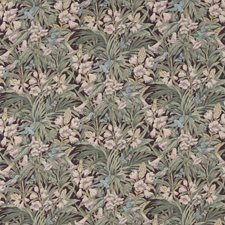 Sage/Multi Print Drapery and Upholstery Fabric by G P & J Baker