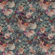 Jewel Print Drapery and Upholstery Fabric by G P & J Baker