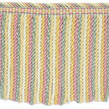 Cut Fringe Yellow/Gold Red/Pink Trim by Brunschwig & Fils