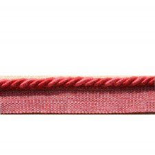 Cord Without Lip Coral Trim by Brunschwig & Fils