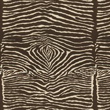 Charcoal Brown and White Animal Skins Drapery and Upholstery Fabric by Brunschwig & Fils