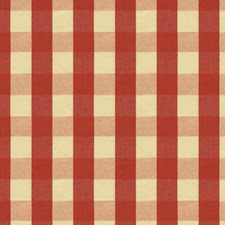 Pomegranate Check Drapery and Upholstery Fabric by Brunschwig & Fils