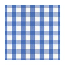 Cornflower Check Drapery and Upholstery Fabric by Brunschwig & Fils