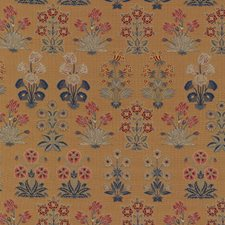 Beige Botanical Drapery and Upholstery Fabric by Brunschwig & Fils