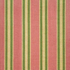Pink/Butter Herringbone Drapery and Upholstery Fabric by Brunschwig & Fils