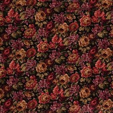 Black/Pink/Beige Botanical Drapery and Upholstery Fabric by Kravet