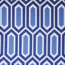 Nautical Blue Drapery and Upholstery Fabric by Maxwell