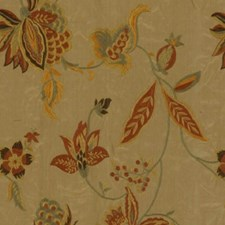 Autumn Leaf Drapery and Upholstery Fabric by RM Coco