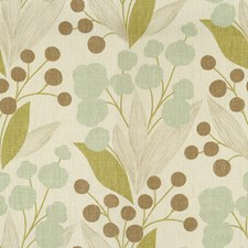 Spa Print Drapery and Upholstery Fabric by Kravet