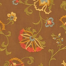 Sepia Drapery and Upholstery Fabric by RM Coco