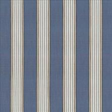 Indigo Drapery and Upholstery Fabric by Kasmir