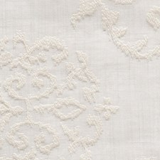 Cream Drapery and Upholstery Fabric by Scalamandre