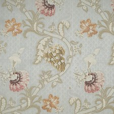 Multi On Light Blue Drapery and Upholstery Fabric by Scalamandre