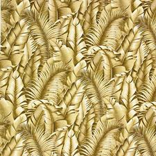 Beige/Brown/White Botanical Drapery and Upholstery Fabric by Kravet