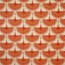 Persimmon Print Drapery and Upholstery Fabric by Pindler