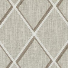 Mocha Diamond Drapery and Upholstery Fabric by Duralee