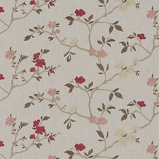 Blossom Embroidery Drapery and Upholstery Fabric by Duralee
