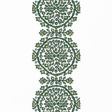 Emerald Embroidery Drapery and Upholstery Fabric by Duralee