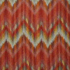 Blue/Burgundy/Red Traditional Drapery and Upholstery Fabric by JF