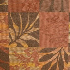 Red Earth Drapery and Upholstery Fabric by RM Coco