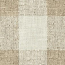 Wheat Plaid Drapery and Upholstery Fabric by Duralee