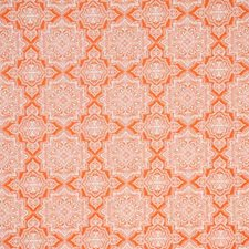 Orange Damask Drapery and Upholstery Fabric by Pindler