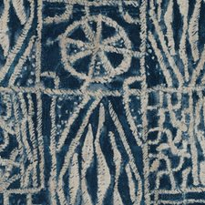 Navy Diamond Drapery and Upholstery Fabric by Duralee