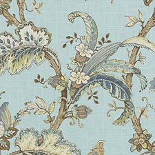 Aegean Floral Large Drapery and Upholstery Fabric by Duralee