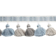 Tassel Light Blue Trim by Duralee