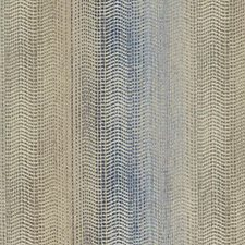 Blue/Gold Stripe w Drapery and Upholstery Fabric by Duralee