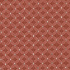 Berry Geometric Drapery and Upholstery Fabric by Duralee